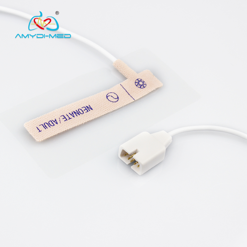 Hot sale!! N-200 disposable Nellcor 7pins spo2 sensor adult/neonate non-woven