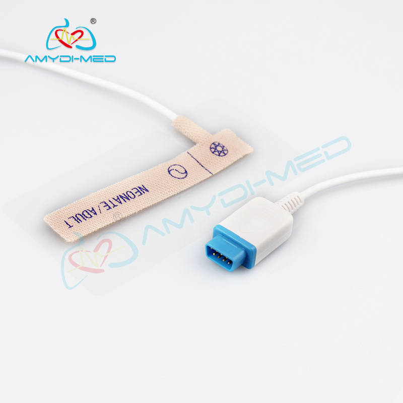 GE Trusignal disposable spo2 sensor,adult/neonate non-woven