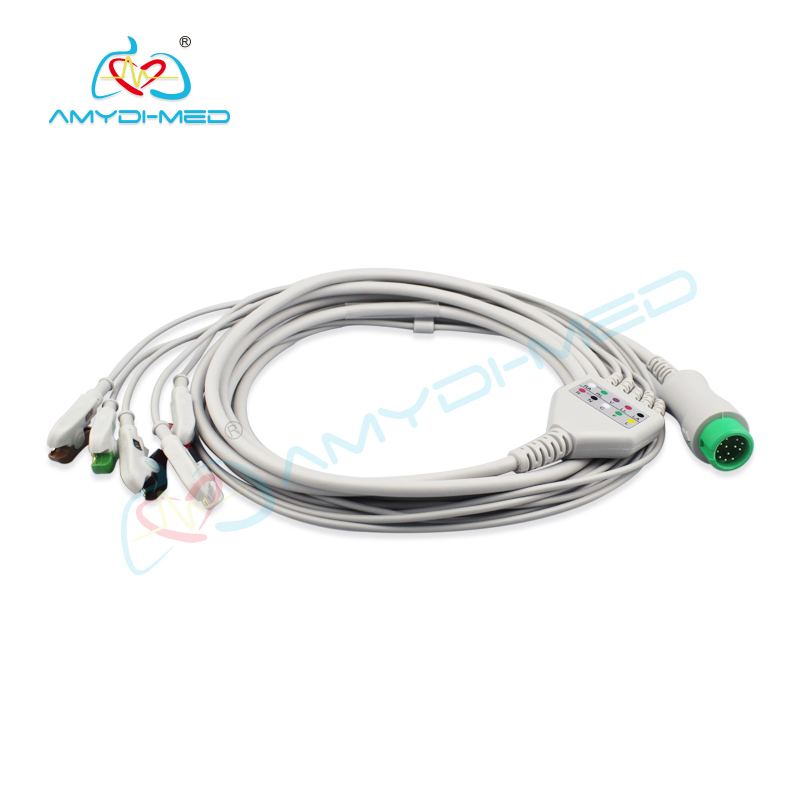 Biolight  A8> Datascope Compatible Direct-Connect ECG Cable