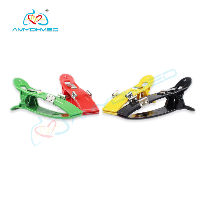Multiple Color Limb Clamp Adapters,Pediatric ECG electrodes