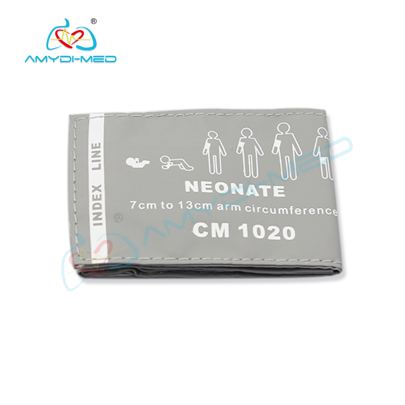Reusable neonate PU  NIBP cuff 7-13CM