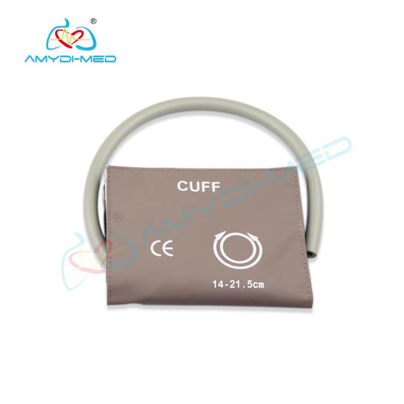 Reusable single tube  NIBP cuff 14 to 21.5 CM