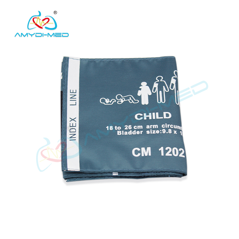 Reusable child nylon  NIBP cuff 18-26CM