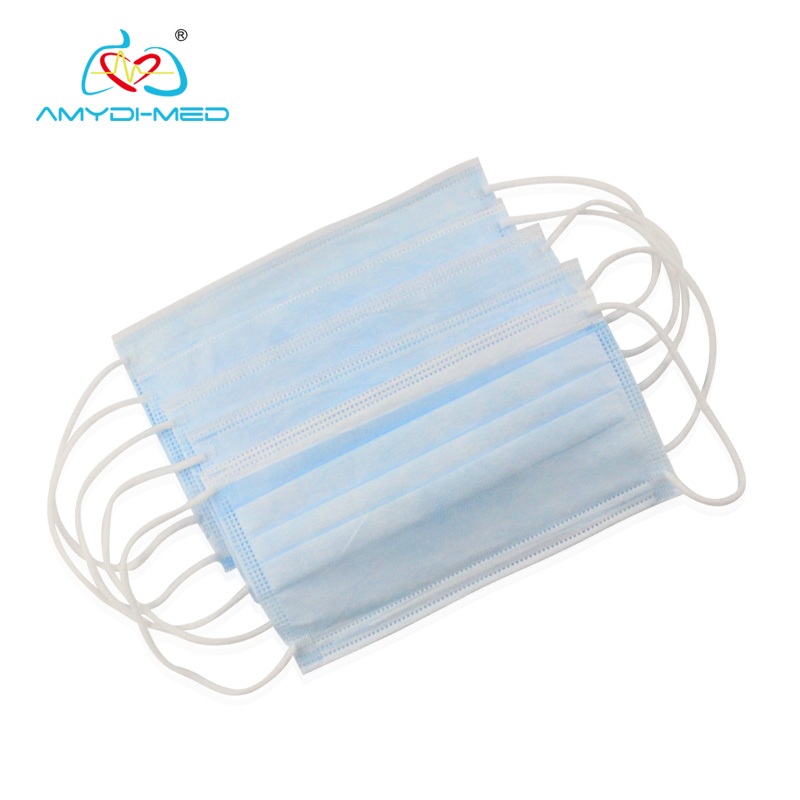disposable Face Mask 3ply face mask disposable earloop BFE>95%